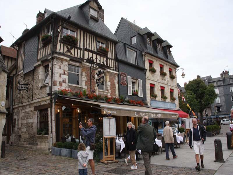 Restaurant Au Vieux Honfleur - RESTAURANT en Normandie