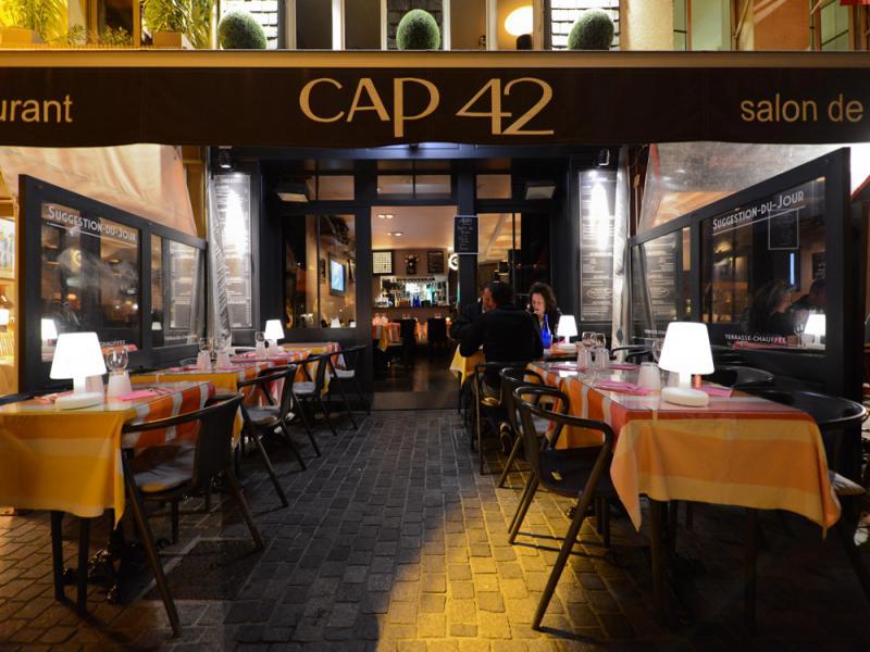 Restaurant Le CAP 42 - RESTAURANT à Honfleur
