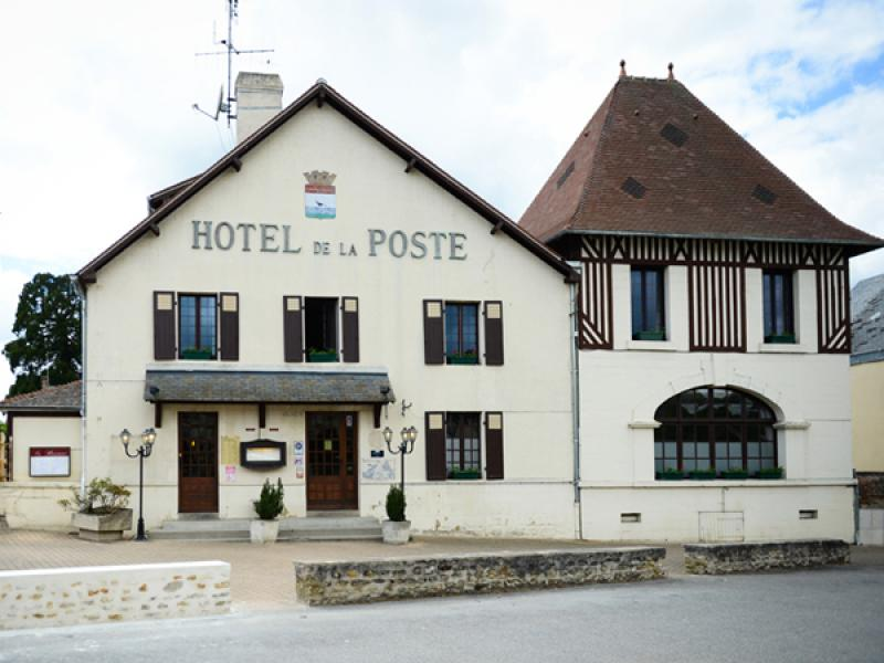Hôtel de la Poste - Hotel en Normandie