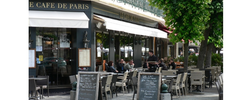 Cafe de Paris - RESTAURANT à Deauville Trouville en Normandie