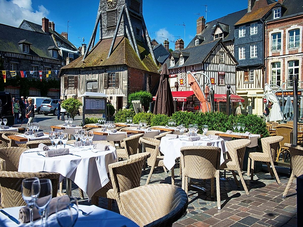 Restaurant la lieutenance honfleur basse normandie calvados for Restaurant la cuisine limoges