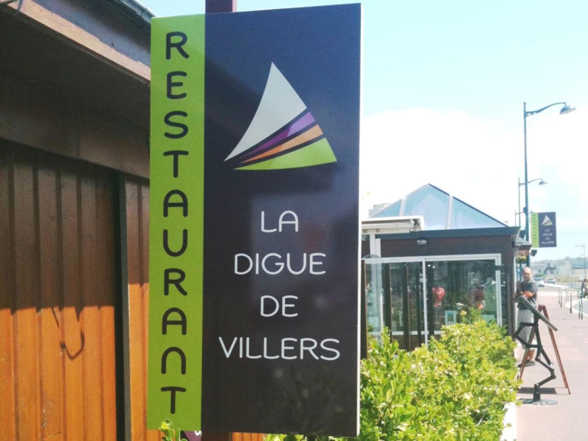 Restaurant La Digue de Villers - RESTAURANT à Deauville Trouville en Normandie