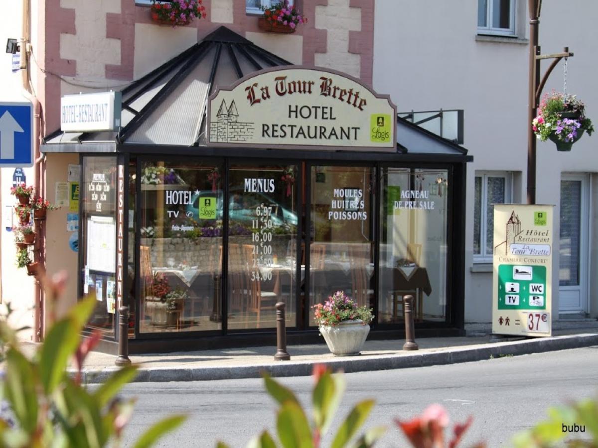 Hotel La Tour Brette - Hotel en Normandie