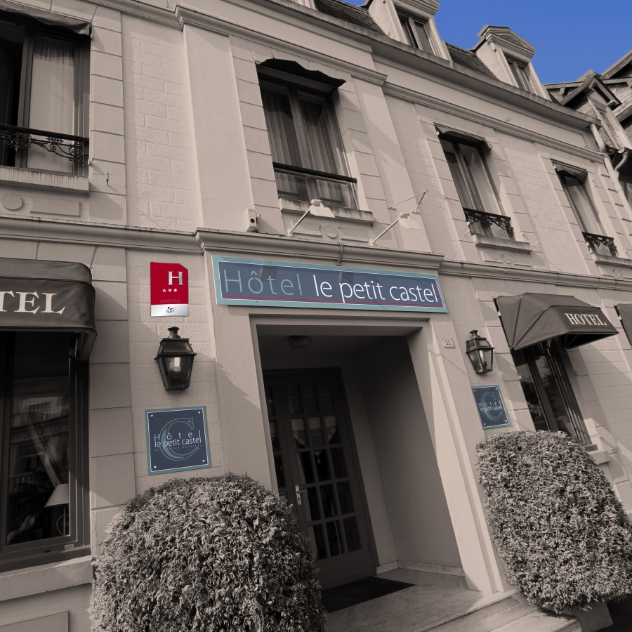 Hotel & Spa Le Petit Castel Beuzeville-Honfleur - Hotel de charme en Normandie