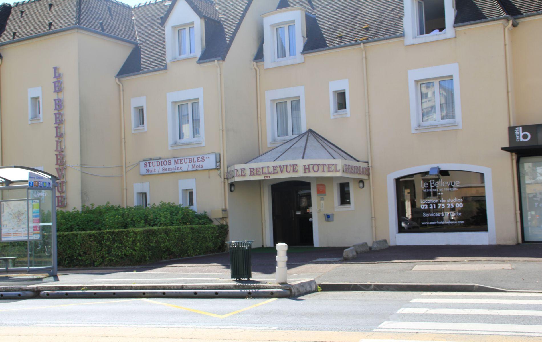 Appart Hotel Le Bellevue Caen - Hotel en Normandie