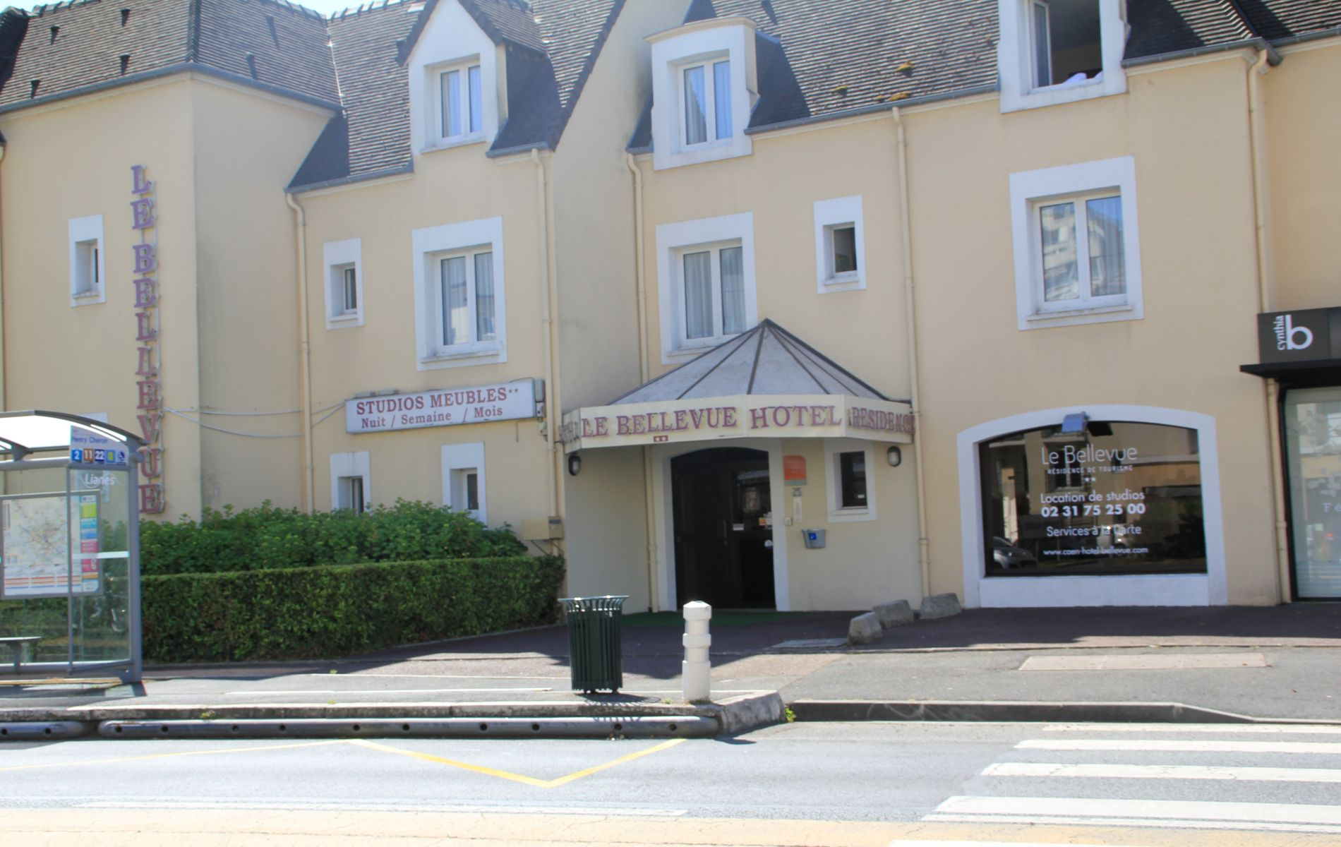Appart Hotel Le Bellevue Caen - Hotel à Caen