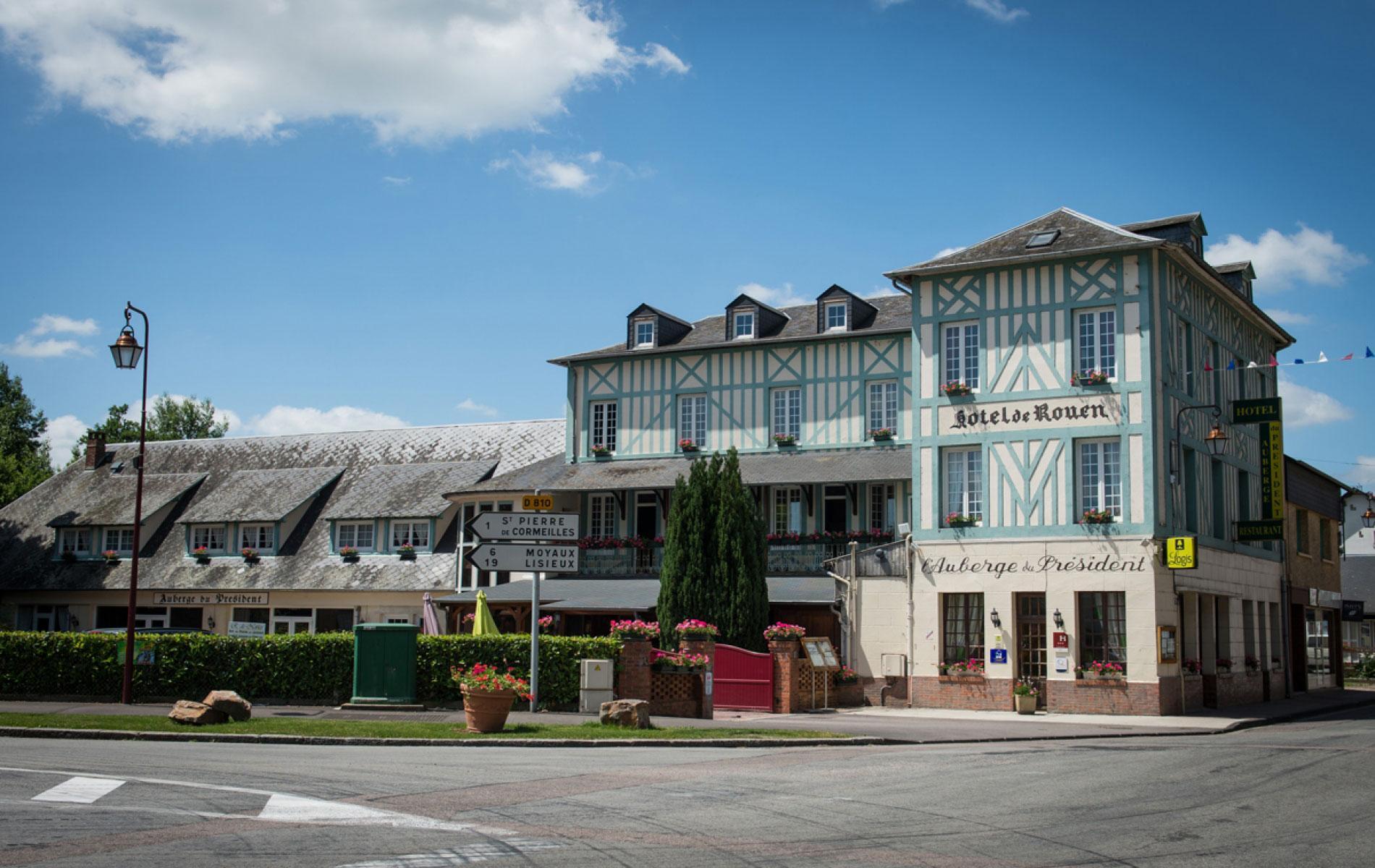 Auberge du Président - Hotel de charme en Normandie
