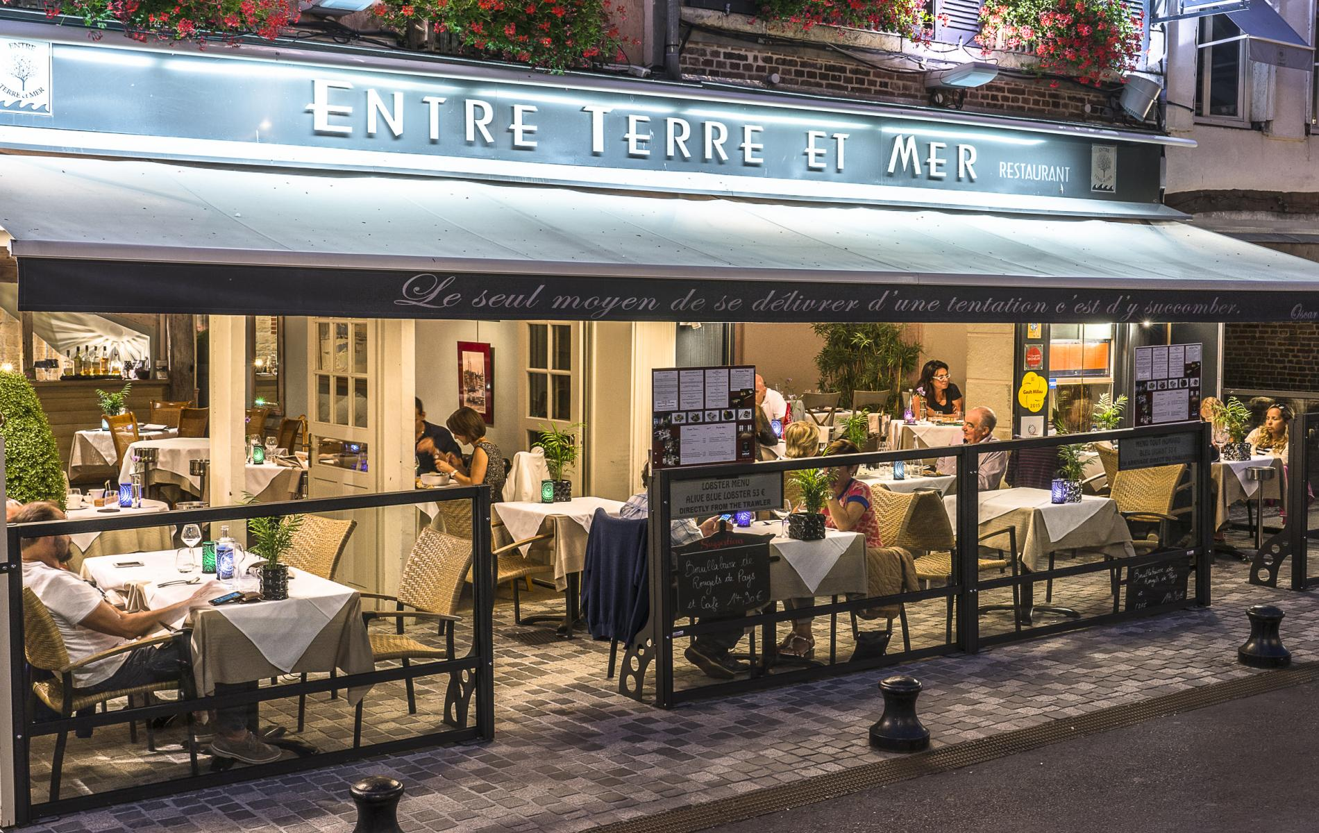 Restaurant Entre Terre et Mer - RESTAURANT à Honfleur