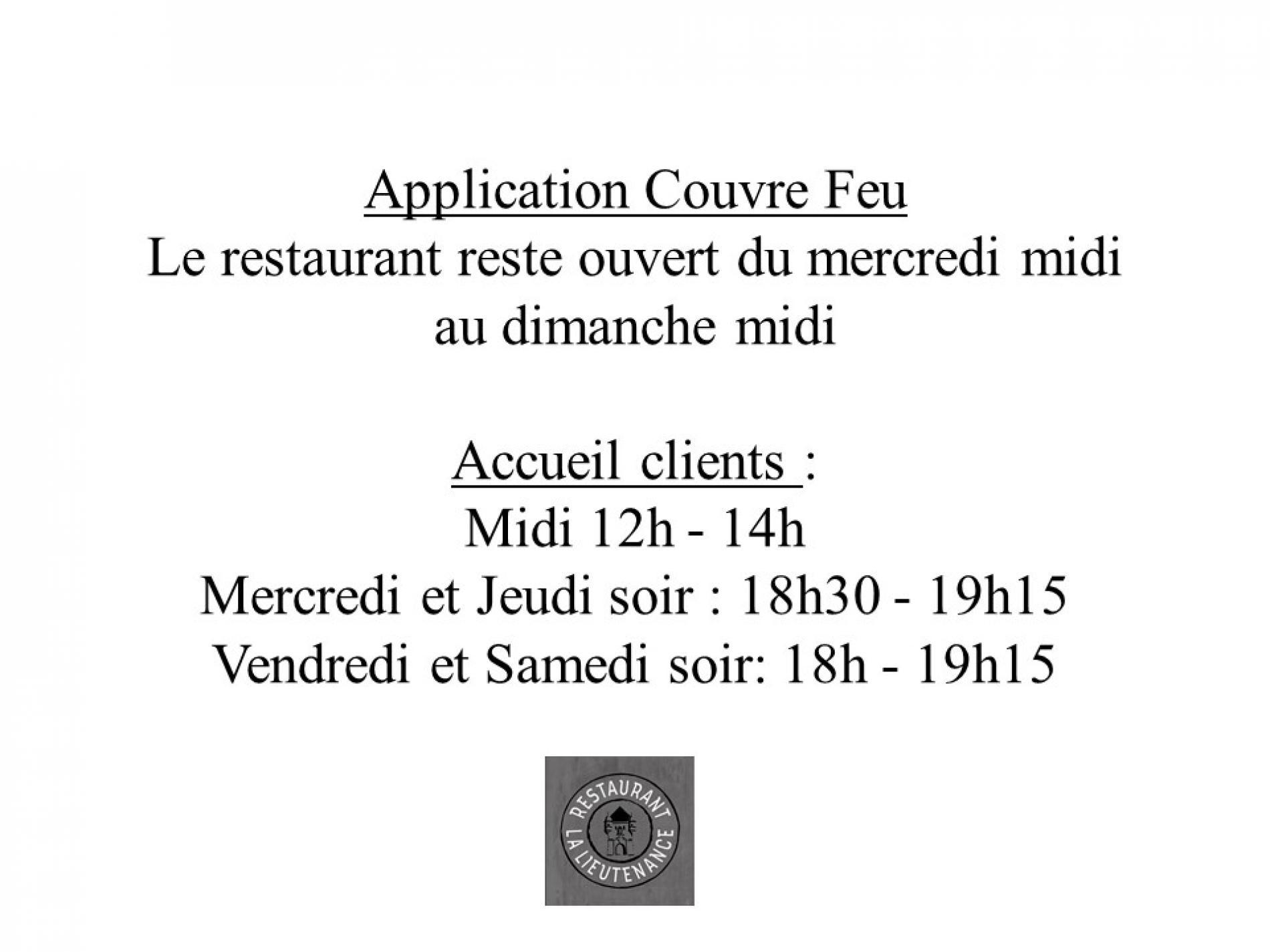 Restaurant la Lieutenance - RESTAURANT en Normandie